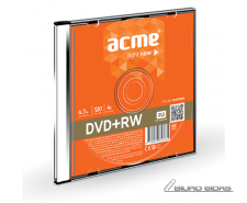 Acme DVD+RW 4.7 GB, 4 x, Plastic Slim Box 003237