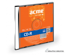 Acme CD-R 0.7 GB, 52 x, Plastic Slim Box 005278