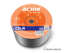 Acme CD-R 0.7 GB, 52 x, 50 Pcs. Shrink 005281