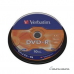 Verbatim DVD-R AZO Matt Silver 4.7 GB, 16 x, 10 Pack Spindle 010873