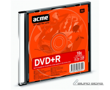 Acme DVD+R 4.7 GB, 16 x, Slim Box 013064
