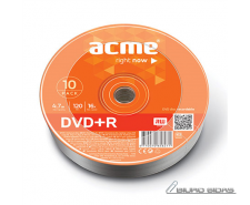 Acme DVD+R 4.7 GB, 16 x, 10 Pcs. Shrink 013066