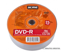 Acme 120 min / 4,7 Gb GB, DVD-R 013789