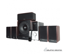 Microlab FC-730 Speaker type 5.1, 3.5mm, Black/Dark Woo..
