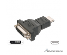 ACC HDMI male to DVI female adapter: DVI-D 24+1p F, HDM..
