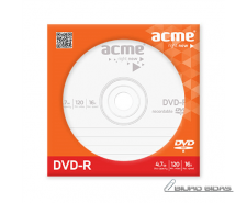 Acme DVD-R Paper Sleeve 4.7 GB, 16 x 037649