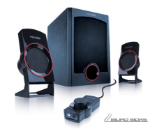 Microlab M-111 Speaker type 2.1, 3.5mm, Black, 12 W 041..