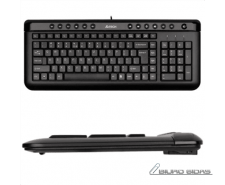 A4Tech Keyboard KL40, slim,  multimedia, wired, Keyboar..