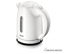 Philips Kettle HD4646/00 Standard, Plastic, White, 2400..