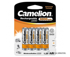 Camelion AA/HR6, 2500 mAh, Rechargeable Batteries Ni-MH..