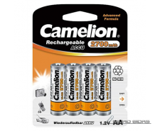 Camelion AA/HR6, 2700 mAh, Rechargeable Batteries Ni-MH..
