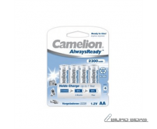 Camelion AA/HR6, 2300 mAh, AlwaysReady Rechargeable Bat..