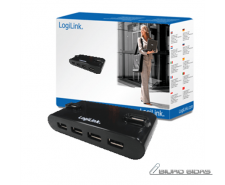 Logilink USB 2.0 Hub-4 port whit power adapter 071208