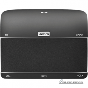 Jabra Freeway In-Car Speakerphone, Bluetooth, Noise-canceling, FM radio, 115 g, Black 075050