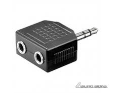 OEM Audio Adapter 3.5 mm stereo plug -  2x 3,5 mm stand..
