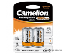 Camelion C/HR14, 2500 mAh, Rechargeable Batteries Ni-MH..