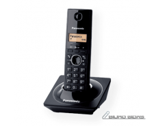 Panasonic Cordless KX-TG1711FXB Black, Caller ID, Wirel..