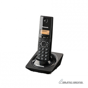 Panasonic Cordless KX-TG1711FXB Black, Caller ID, Wireless connection, Phonebook capacity 50 entries, Built-in display, Conference call, 089259