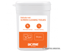 Acme CL01 Delicate screen cleaning tissues 091266