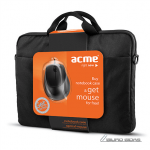 Acme 16M37 Notebook case + MS13 Optical mouse..