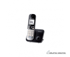 Panasonic Cordless KX-TG6811FXB Black, Caller ID, Wirel..