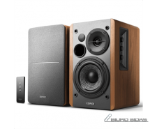 Edifier Studio 1280T Speaker type 2.0, 3.5mm, Grey/Wood..