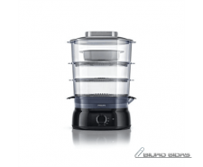 Philips Daily Collection Steamer HD9126/00 Black, 900 W..