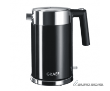 GRAEF. Kettle WK 62 Standard, Stainless steel, Black, 2..