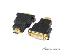 Gembird HDMI - DVI, M/F Black, HDMI to DVI adapter