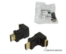 HDMI Adapter small size, AM to AF in 90 degree Logilink..