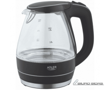 Kettle Adler Kettle AD 1224 Standard, Glass, Black, 200..