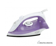 Iron Adler AD 5019 Violet/White, 1600 W, With cord, Co..