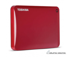 "Toshiba Canvio Connect II 500 GB, 2.5 "", USB 3.0, Red, .."