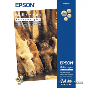 Epson Matte Paper Heavy Weight, DIN A4, 167g/m², 50 Sheets 152316