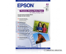 Epson Premium Glossy Photo Paper A3, 250g/m2, 20 sheets..