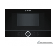 Bosch Microwave Oven BFL634GB1 Touch, 900 W, Black, Bui..