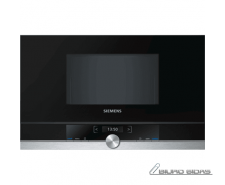 SIEMENS Microwave oven BF634LGS1 Touch, 900 W, Black, S..