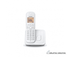 Panasonic Cordless KX-TGC210FXW White, Built-in display..
