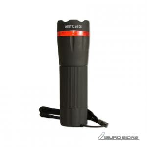 Arcas Torch LED, 1 W, 60 lm, Zoom function 156852