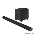 Edifier Soundbar paired with subwoofer CineSo..