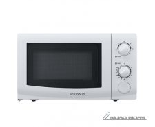 DAEWOO Microwave oven KOR-6617W 20 L, Rotary, 800 W, Wh..