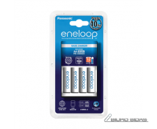 Panasonic eneloop Basic Battery Charger  AA, 4 x R6/AA ..