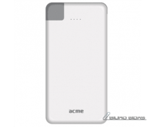 Acme PB08 Slim power bank, 4000mAh 4000 mAh, White