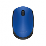 Logitech M171 Black, Blue, Yes, Wireless Mous..
