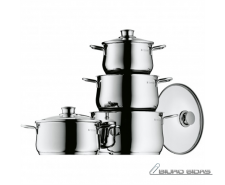 Cookware set, 4pc, WMF 07.3004.9990 4, Stainless steel,..
