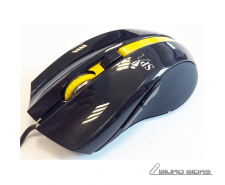 Super power Optical Gaming Mouse 52, 4 butons,  black /..