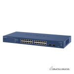 Netgear Switch GS724T Managed L2+, Rack mount..