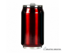 Yoko Design Isotherm Tin Can 280 ml, Shiny red 176020