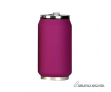 Yoko Design Isotherm Tin Can 280 ml, Soft touch violet