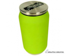 Yoko Design Isotherm Tin Can 280 ml, Soft touch lime 17..